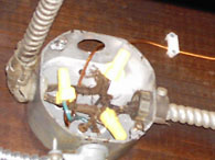 Open Junction Box found during Home Inspection